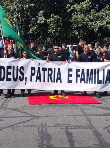 Integralistas cariocas participam do Dia da Pátria